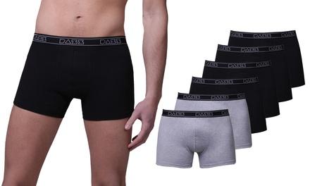Pack de 6 boxers
