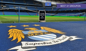 Manchester City Football Club: Etihad Stadium Tour: One Adult and One Child or Two Adults and Two Children at Manchester City Football Club (39% Off)