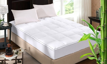 Royal Comfort 100% Cotton Top 1000GSM Bamboo Topper: Queen ($69) or King ($79)
