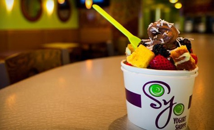 $12 for Two $10 Gift Cards to SoYo Yogurt Shoppe ($20 Value)