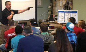 Jax Tactical Guns: Concealed-Weapons or Basic Pistol-Shooting Class at Jax Tactical (Up to 45% Off)