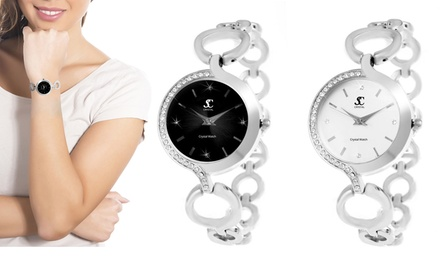 Orologio da donna SC Crystal con 30 cristalli disponibile in 2 colori