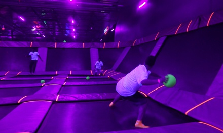 60- or 90-Minute Jump Passes or Party Package at Sky Zone Riverside (Up to 50% Off)