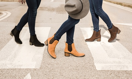 Water Resistant Chelsea Boots