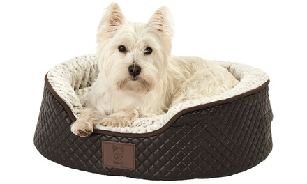 Bunty Manhattan Quilted Pet Bed for Dogs