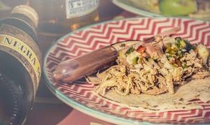 Ay Carmela: Menú mexicano para 2 o 4 con entrante, principal, postre y bebida desde 19,95 € en Ay Carmela