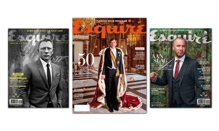 5 of 10 nummers Esquire, je abonnement stopt automatisch