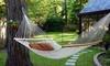 Hamac de jardin tissé de 200 x 80 cm