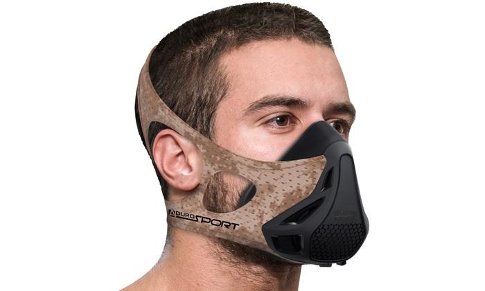 Up To 55% Off on Aduro Sport Training Mask | Groupon Goods