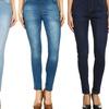 High-Waisted, Pull-On Skinny Denim Women's Jeggings