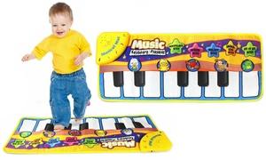 Piano géant pour les pieds