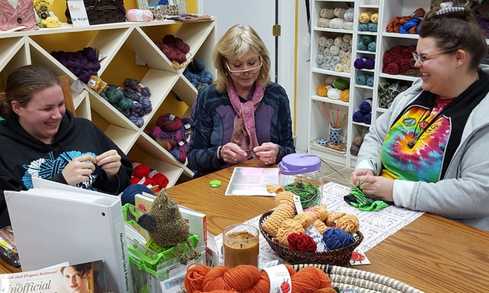 Ophir Crafts - Ophir Crafts: Three Knitting, Crocheting, or Needle or Wet Felting Classes at Ophir Crafts (Up to 51% Off)