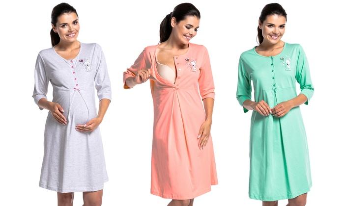 Groupon Goods Global GmbH: Robe de nuit pour maternité