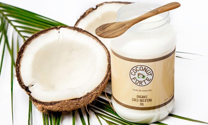 500 ml ou 1 L d'huile de coco bio dès 1090 € (jusquà 66% de rduction)