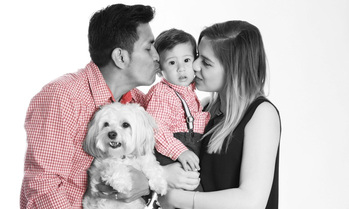 Matico Photo Studio - Croydon: Family and Pet Photoshoot with Two prints and 3 Images on CD from Matico Photo Studio (85% Off)