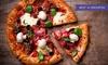 Pizza alla carta più dolce e birra