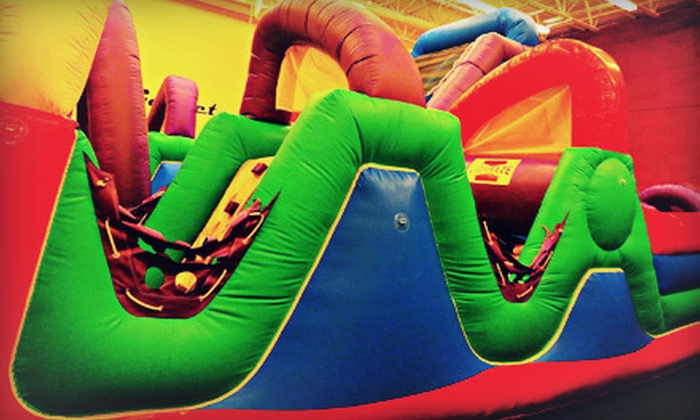 Party On - Parker: Six Indoor Playground Visits or One Birthday Party Package for Up to 25 at Party On (Up to 56% Off)
