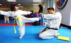 Master Yi's Taekwondo and Martial Arts: Two Weeks or One Month of Youth or Adult Taekwondo at Master Yi's Taekwondo and Martial Arts (Up to 83% Off)