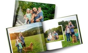 PrinterPix: Fotolibro personalizzato in copertina rigida A4 da 40 o 100 pagine con copertina rigida da 10 €