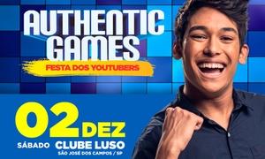 UP Eventos: Authentic Games – Clube Luso Brasileiro: 1 ingresso para cadeira avulsa, setor em pé