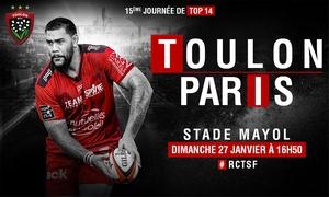 Matchs du Rugby Club Toulon Toulon