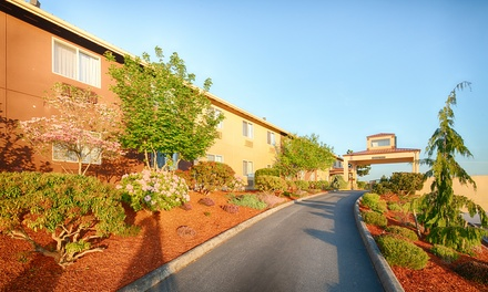 groupon.com - Stay at Red Lion Inn & Suites Sequim in Washington.