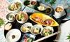 四季折々の日本料理「なごみ膳」+1ドリンク|ランチ&ディナー