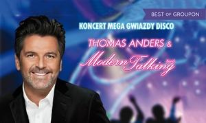 Andrzejki z Thomasem Andersem & Modern Talking Band: Od 99 zł: bilet na andrzejkowy koncert Thomasa Andersa & Modern Talking Band w Bydgoszczy (do -34%)