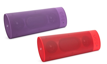 KitSound Portable Bluetooth Sound System