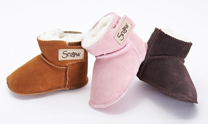 bottes fourrées bébé occasion