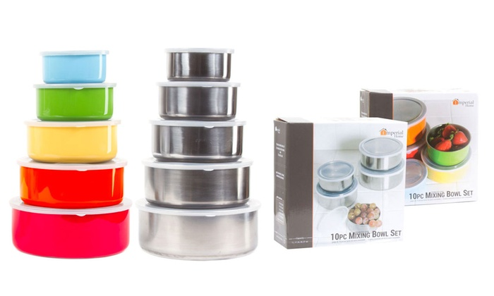 Up To 50 Off on Stainless Steel Container Set Groupon Goods
