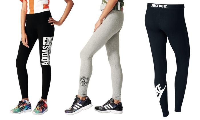 fussballgott24.de: Adidas oder Nike Leggings für Frauen in der Farbe nach Wahl inkl. Versand (bis zu 28% sparen*)