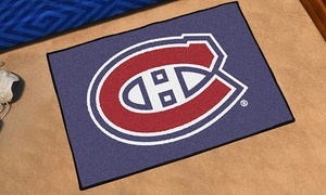 "Fanmats NHL 30"" x 19"" Area Rug"