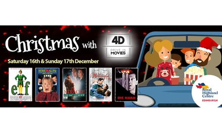 4D Drive in Christmas Movies