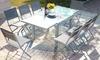 Table extensible et chaises