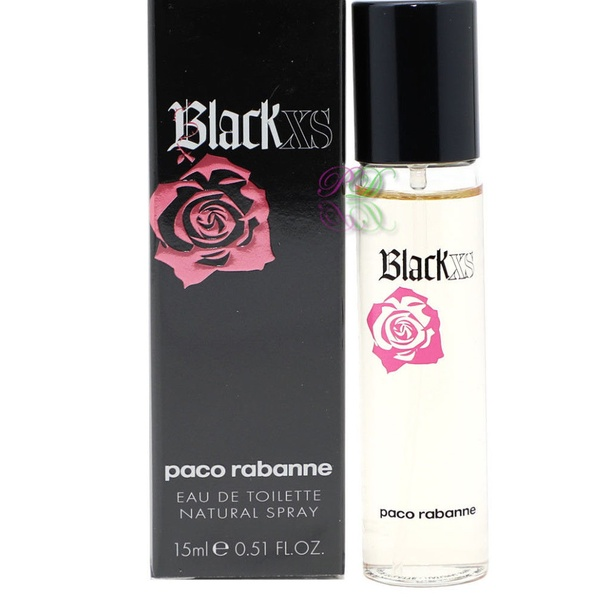 Eau Femme Toilette Black De Paco Xs For 15ml Pour Rabanne Her jq5Rc43AL