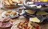 Raclette illimitata e vino Ai 3 Bicchieri