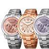 Akribos XXIV Women's AK951 Multifunction Stainless Steel Watch