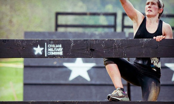 Civilian Military Combine - Aviator Sports & Events Center: $65 for NYC Urban Assault Race from Civilian Military Combine on Saturday, September 22, in Brooklyn (Up to $160 Value)