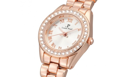 Montre de la marque Louise Pearl ornées de cristaux Swarovski®