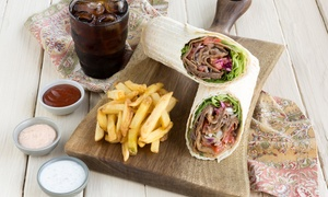 Doner Deli: German Doner Kebab Combo for Up to Four at Doner Deli, Multiple Locations (Up to 38% Off)