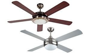 "Black+Decker 52"" 4-Blade or 5-Blade Ceiling Fans With Light"