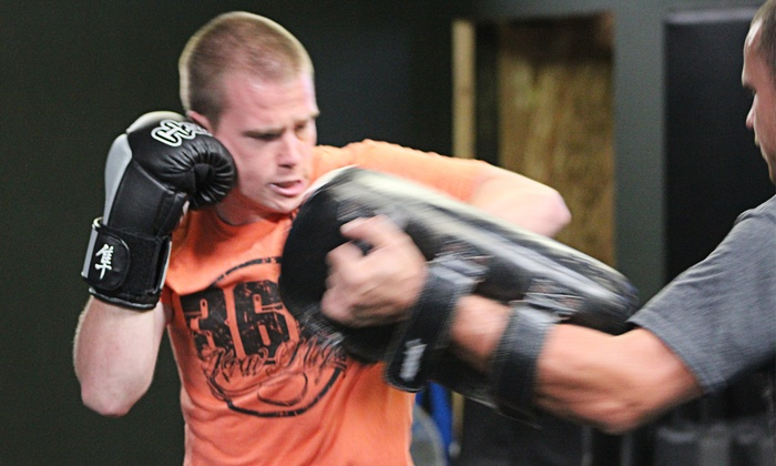 360 Fight Academy - Multiple Locations: 5 or 10 Kickboxing or Krav Maga Classes  at 360 Krav Maga (Up to 80% Off)