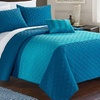 Costello Quilting Embroidery Quilt Set (4-Piece)