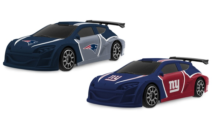 nfl gridiron race car by dgl group groupon. Black Bedroom Furniture Sets. Home Design Ideas