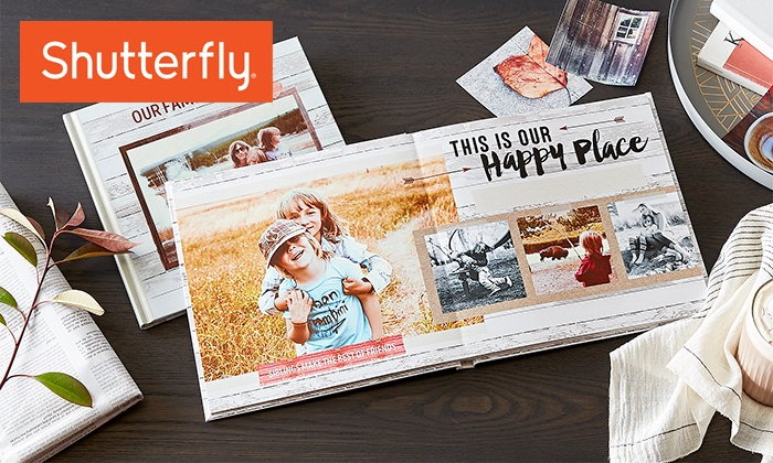 Custom Photo Books from Shutterfly