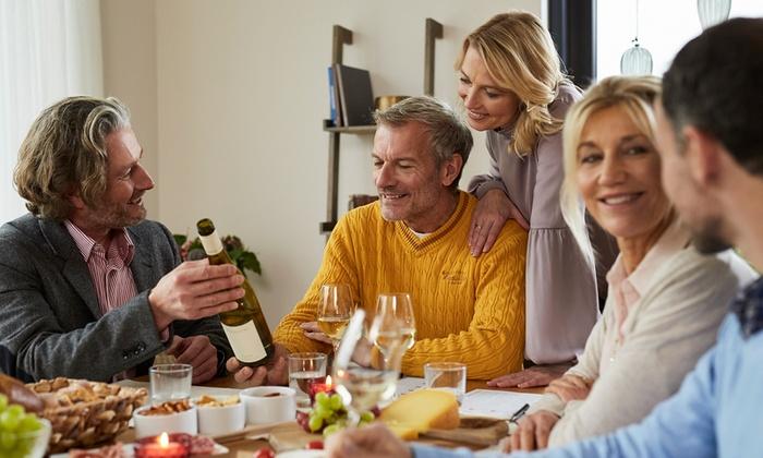 Bacchus Internationale Weine GmbH - Mehrere Standorte: Weinprobe inkl. Magnumflasche Sekt für bis zu 8 Pers. zu Hause mit Bacchus – Internationale Weine (bis zu 81% sparen*)