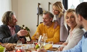 Bacchus Internationale Weine GmbH: Weinprobe inkl. Magnumflasche Sekt für bis zu 8 Pers. zu Hause mit Bacchus – Internationale Weine (bis zu 81% sparen*)