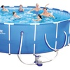 Bestway Steel Pro Frame Above-Ground Pool (18ft x 48 inches)