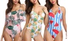 Women's Tropical Printed 1-Piece Swimsuit
